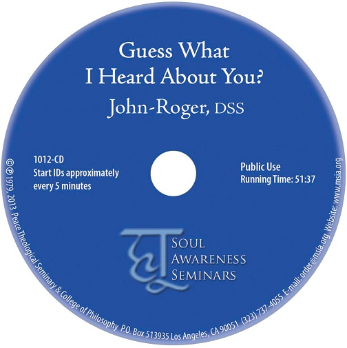 Guess What I Heard About You? CD
