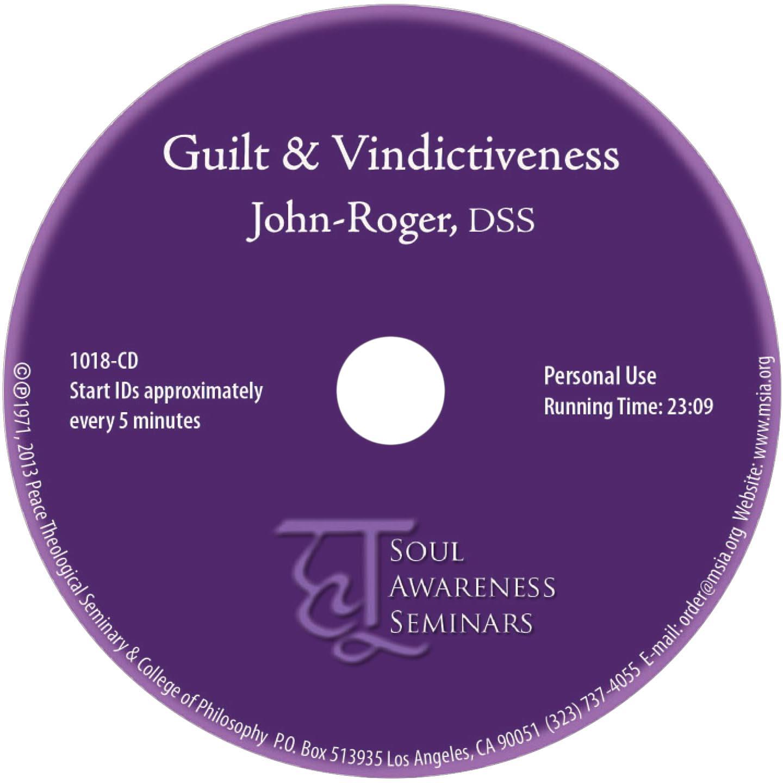 Guilt & Vindictiveness CD