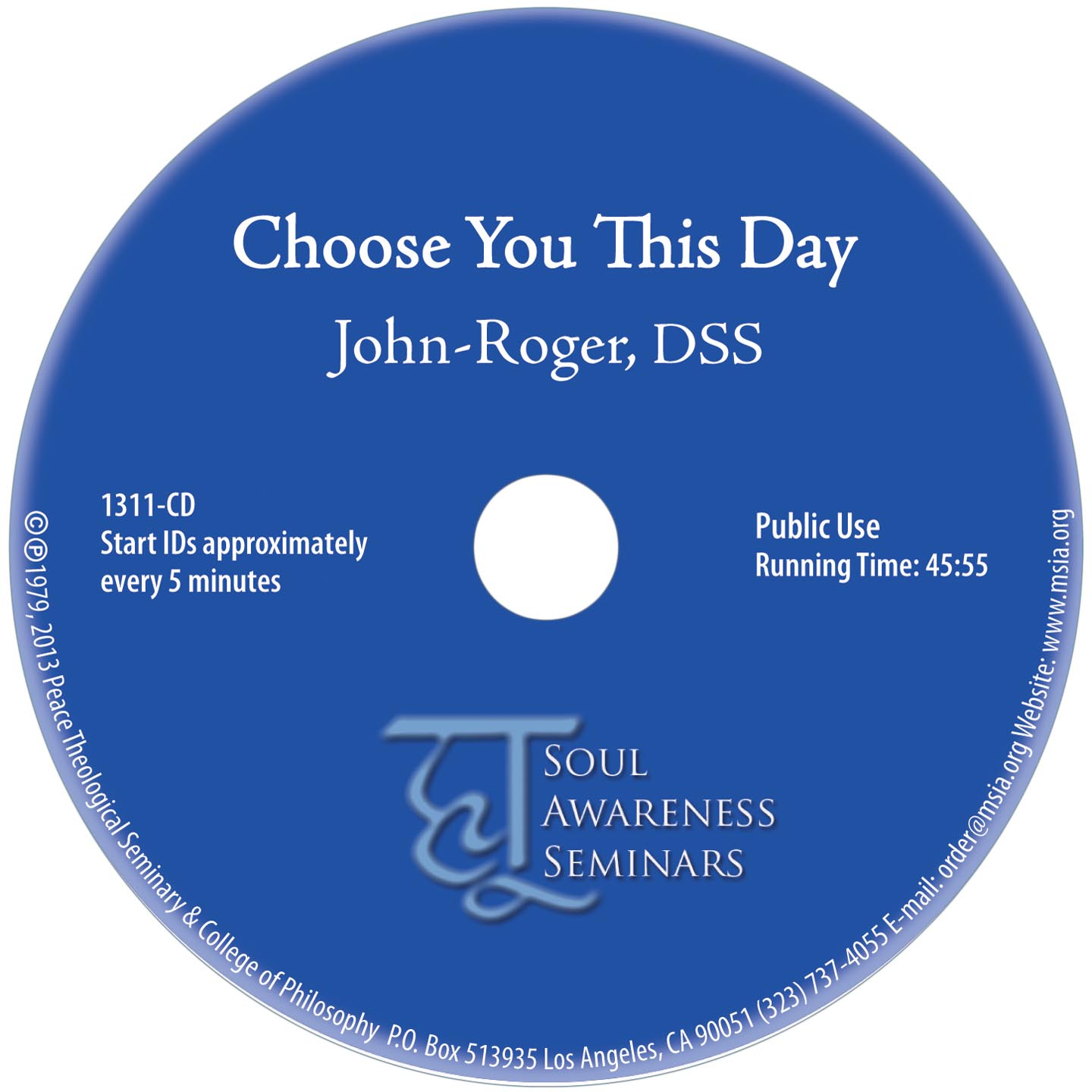 Choose you This Day MP3