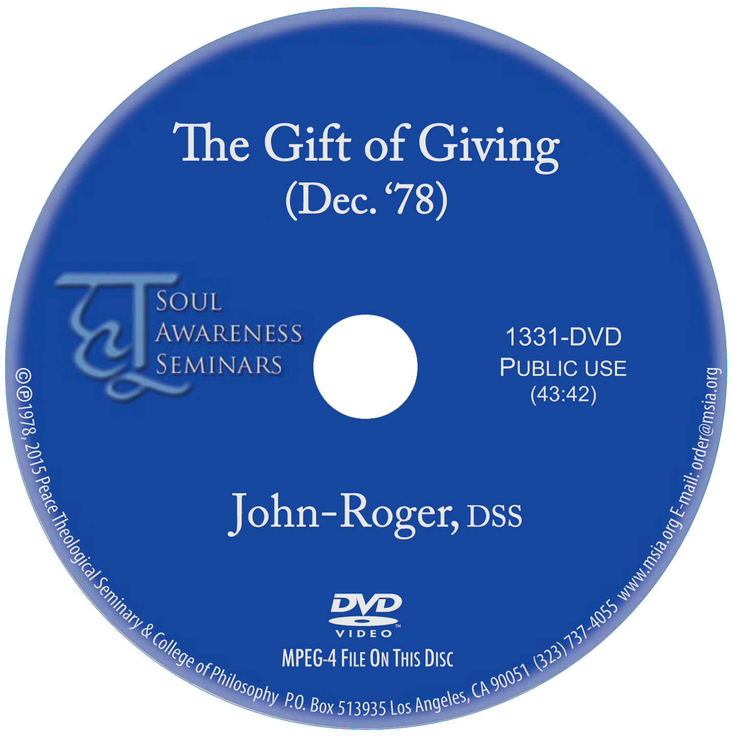 The Gift of Giving MP4