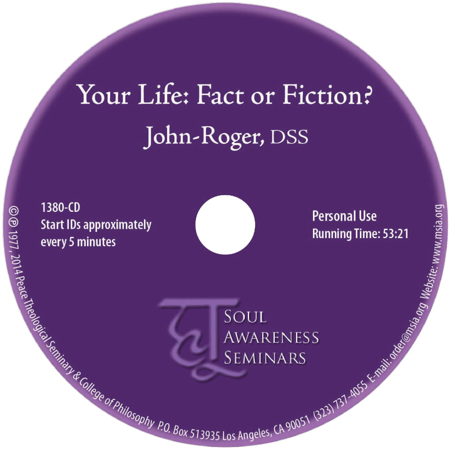 Your Life: Fact or Fiction? MP3