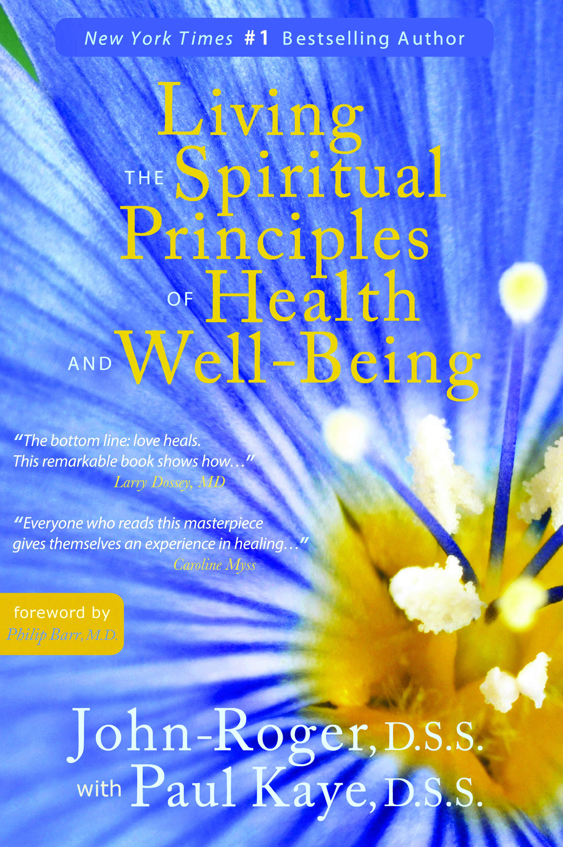 Living the Spiritual Principles of Health and Well Being