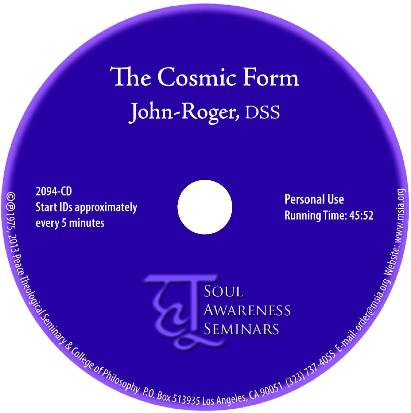 The Cosmic Form MP3