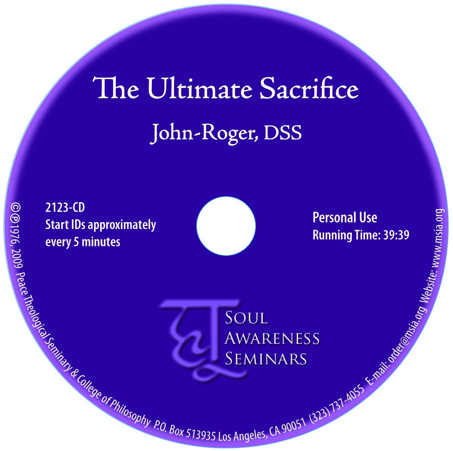 The Ultimate Sacrifice MP3