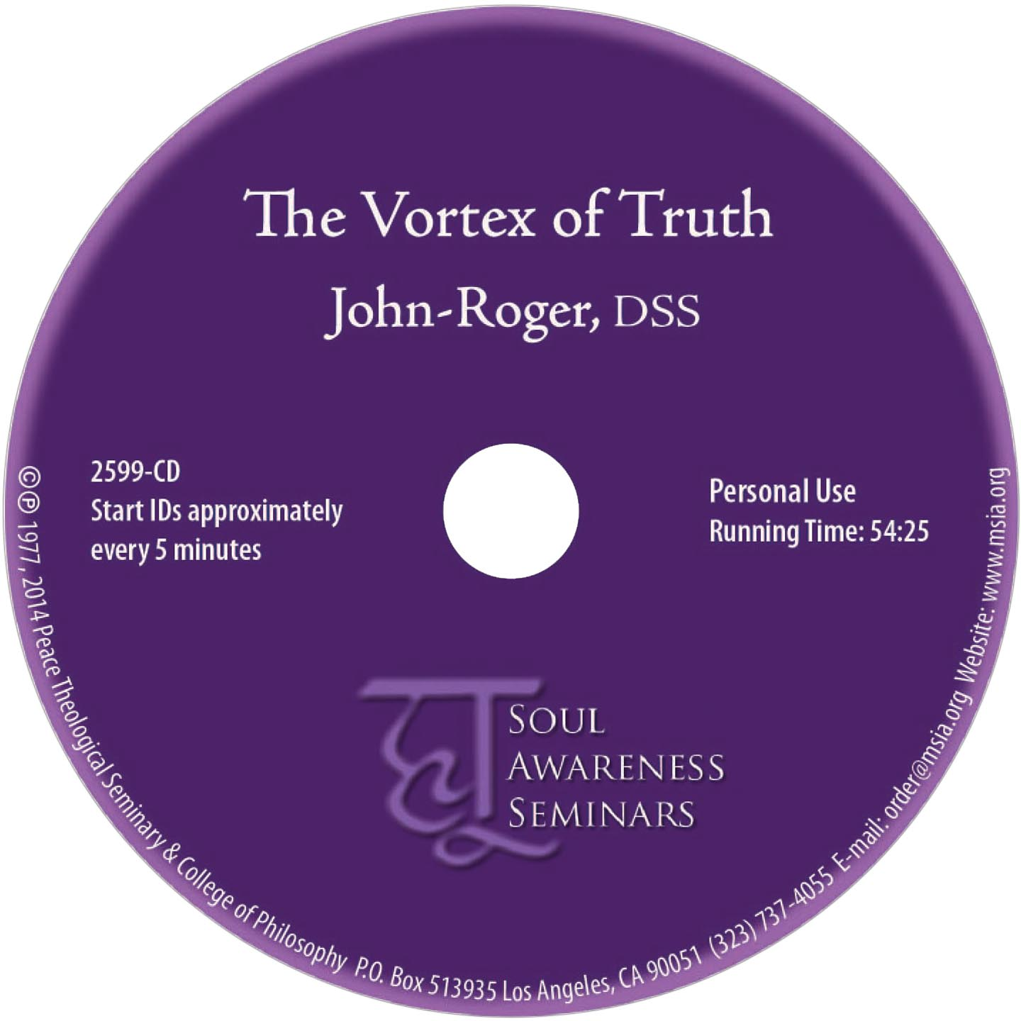 The Vortex of Truth CD