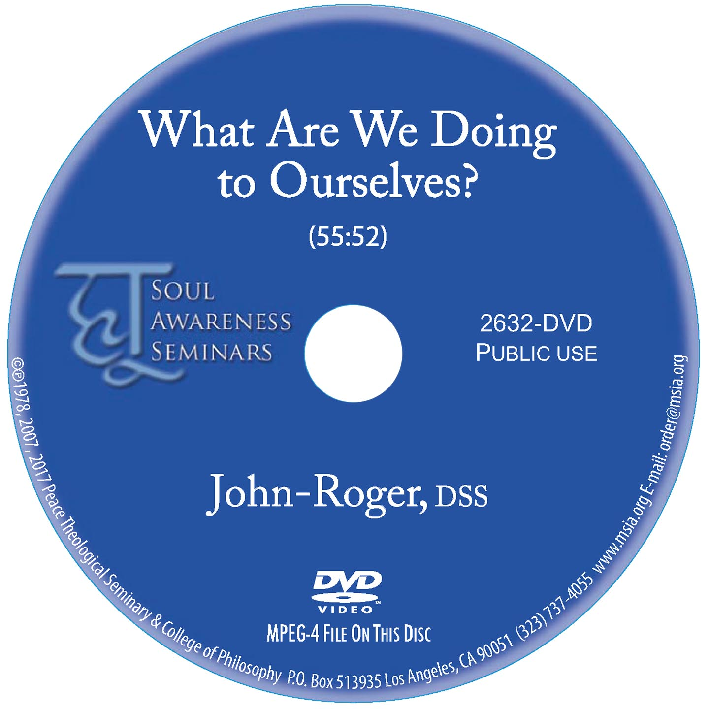 What Are We Doing to Ourselves? DVD