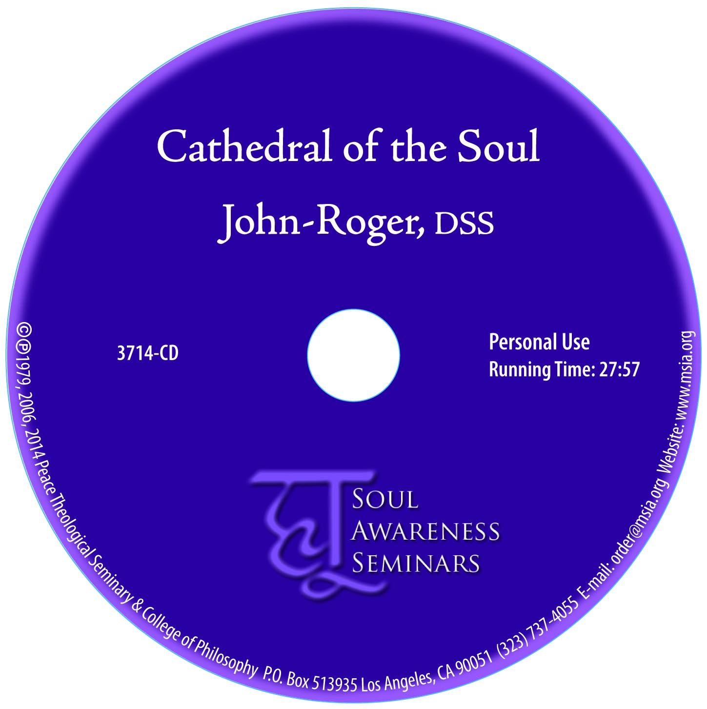 Cathedral of the Soul MP3