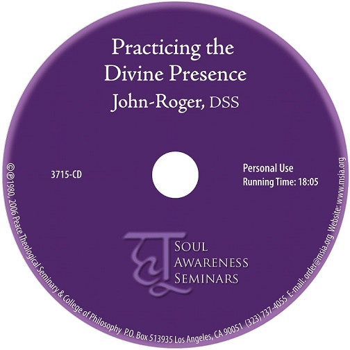 Practicing the Divine Presence MP3