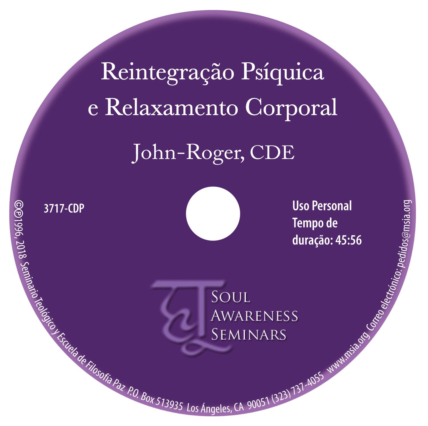 Reintegração Psíquica e Relaxamento Corporal MP3
