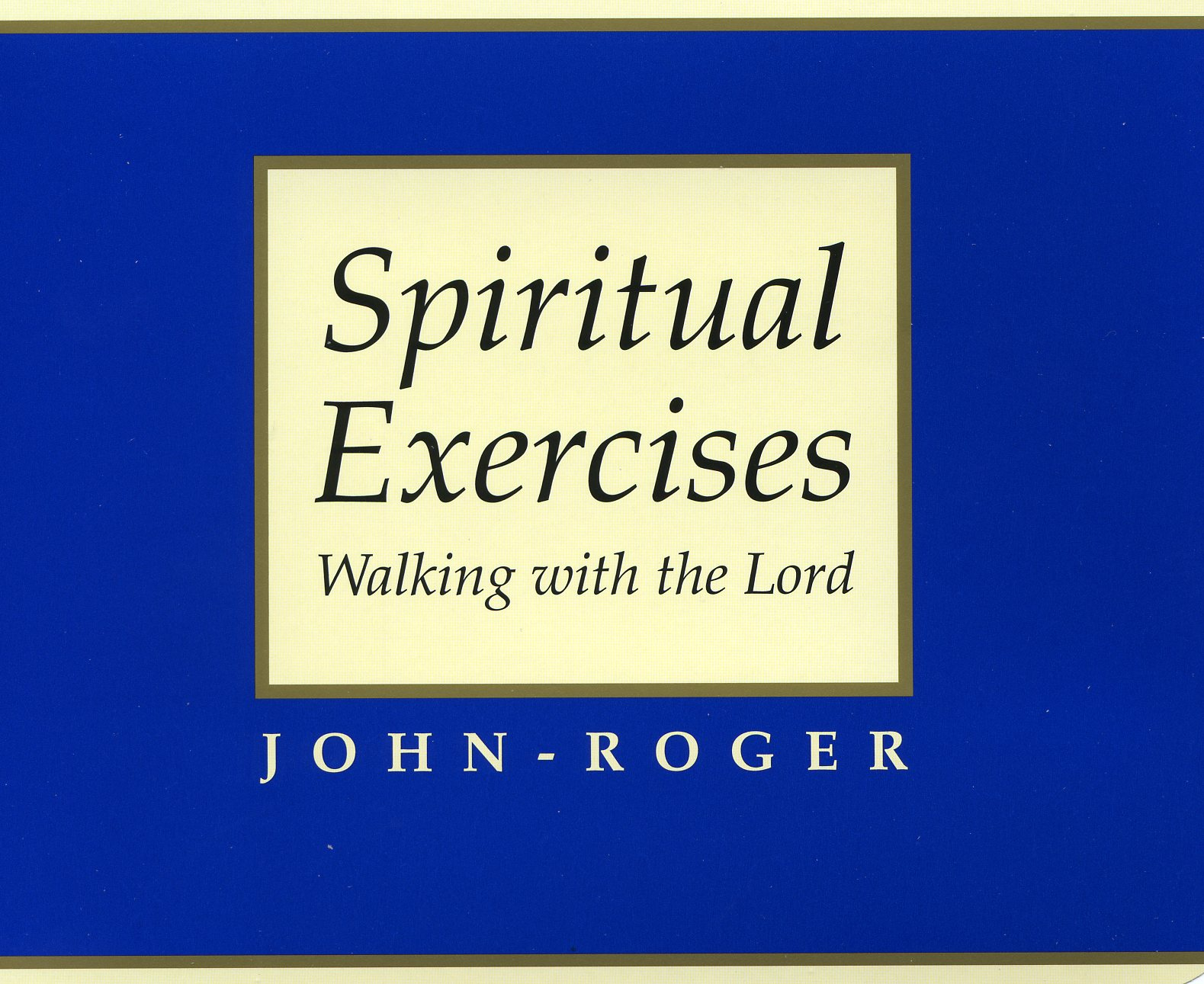 Spiritual Exercises: Walking with the Lord MP3