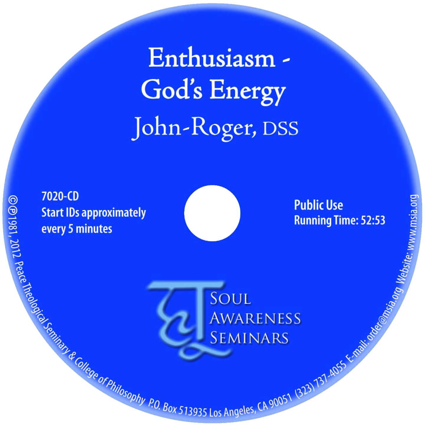 Enthusiasm – God's Energy MP3