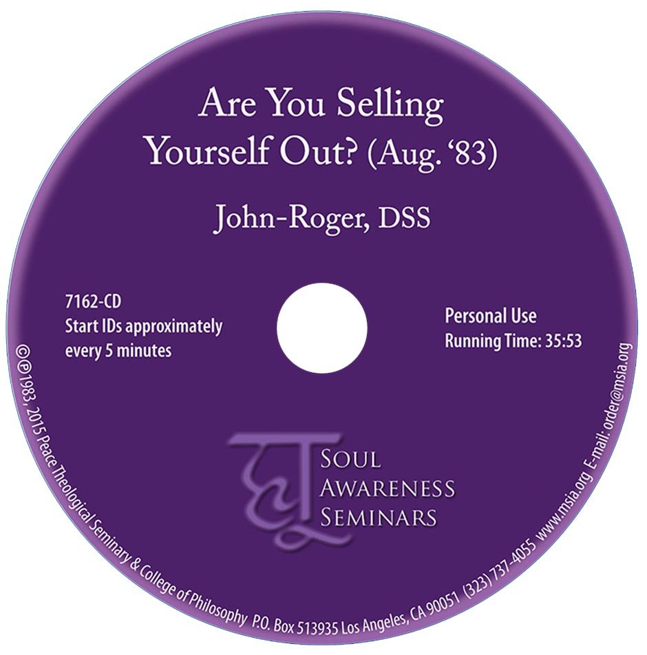 Are You Selling Yourself Out? CD