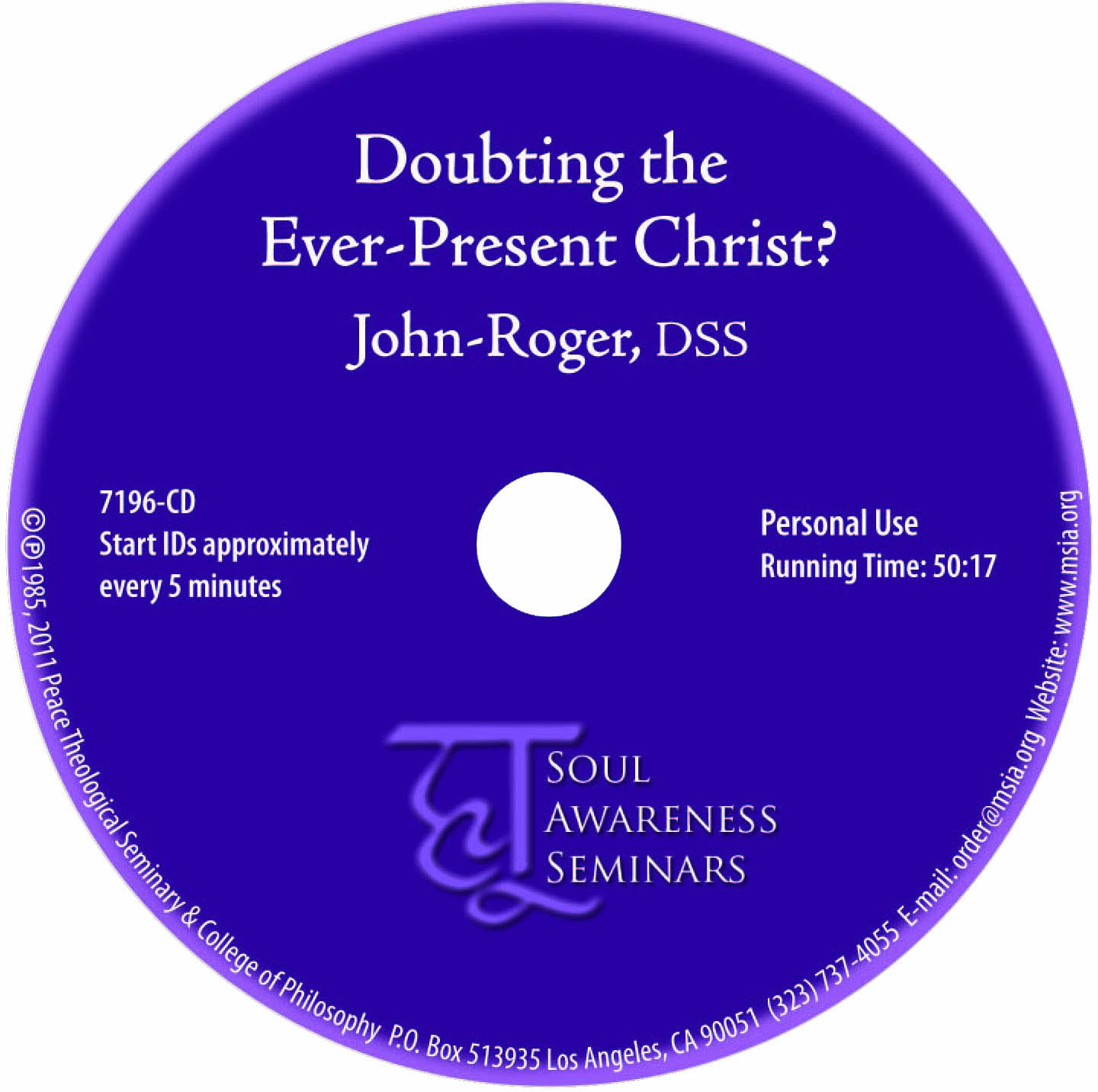 Doubting the Ever-Present Christ? MP3