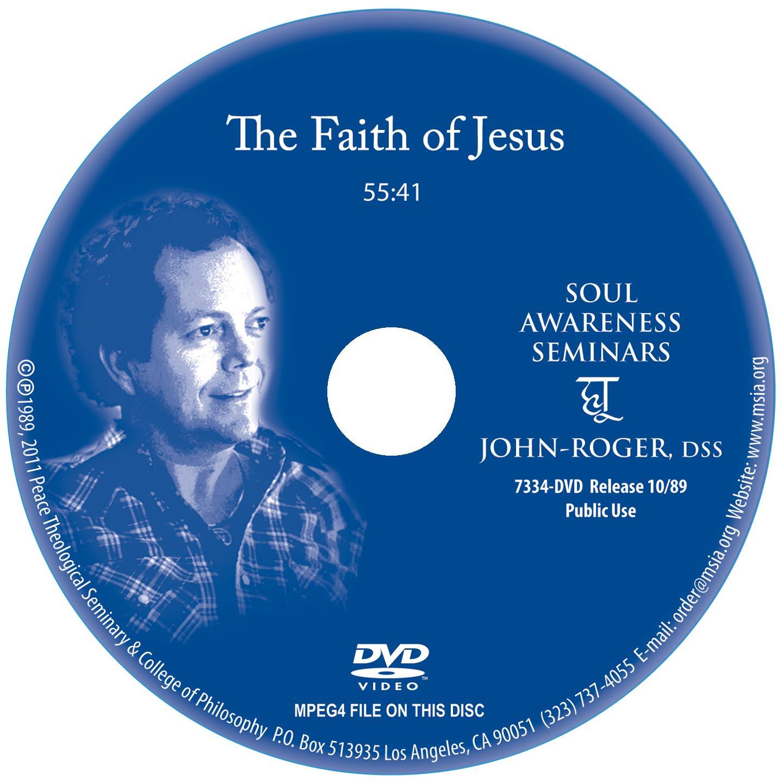 The Faith of Jesus DVD