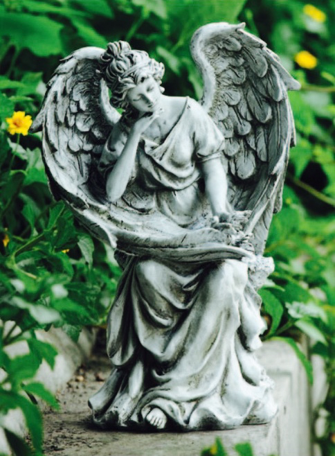 Sitting Angel in Thought