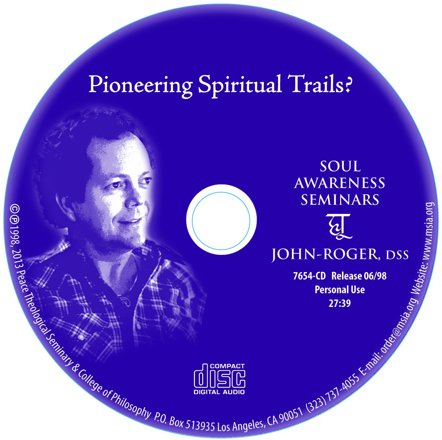 Pioneering Spiritual Trails? MP3