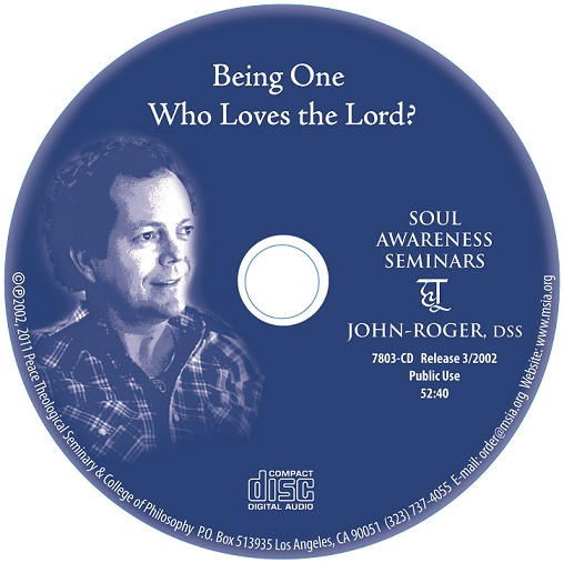 Being One Who Loves the Lord? MP3