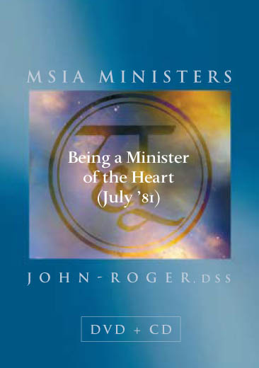 Being a Minister of the Heart (July '81) DVD/CD Set