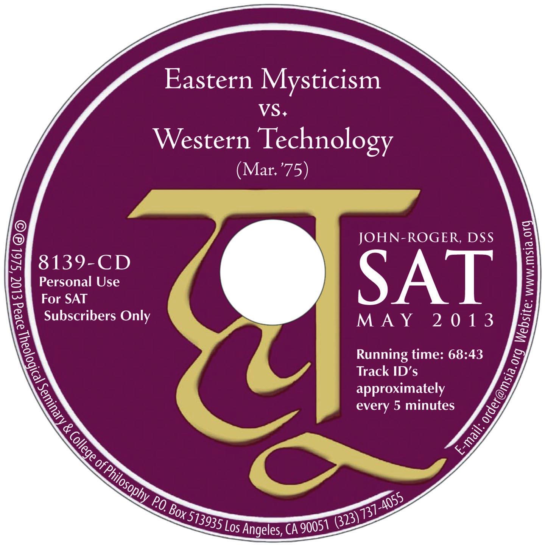 Eastern Mysticism vs. Western Technology MP3
