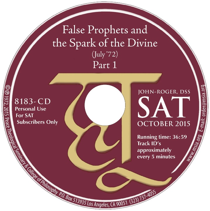 False Prophets and the Spark of the Divine- Part 1 MP3