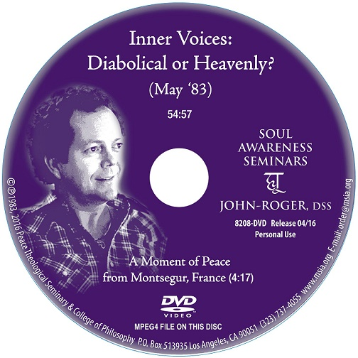 Inner Voices: Diabolical or Heavenly? DVD