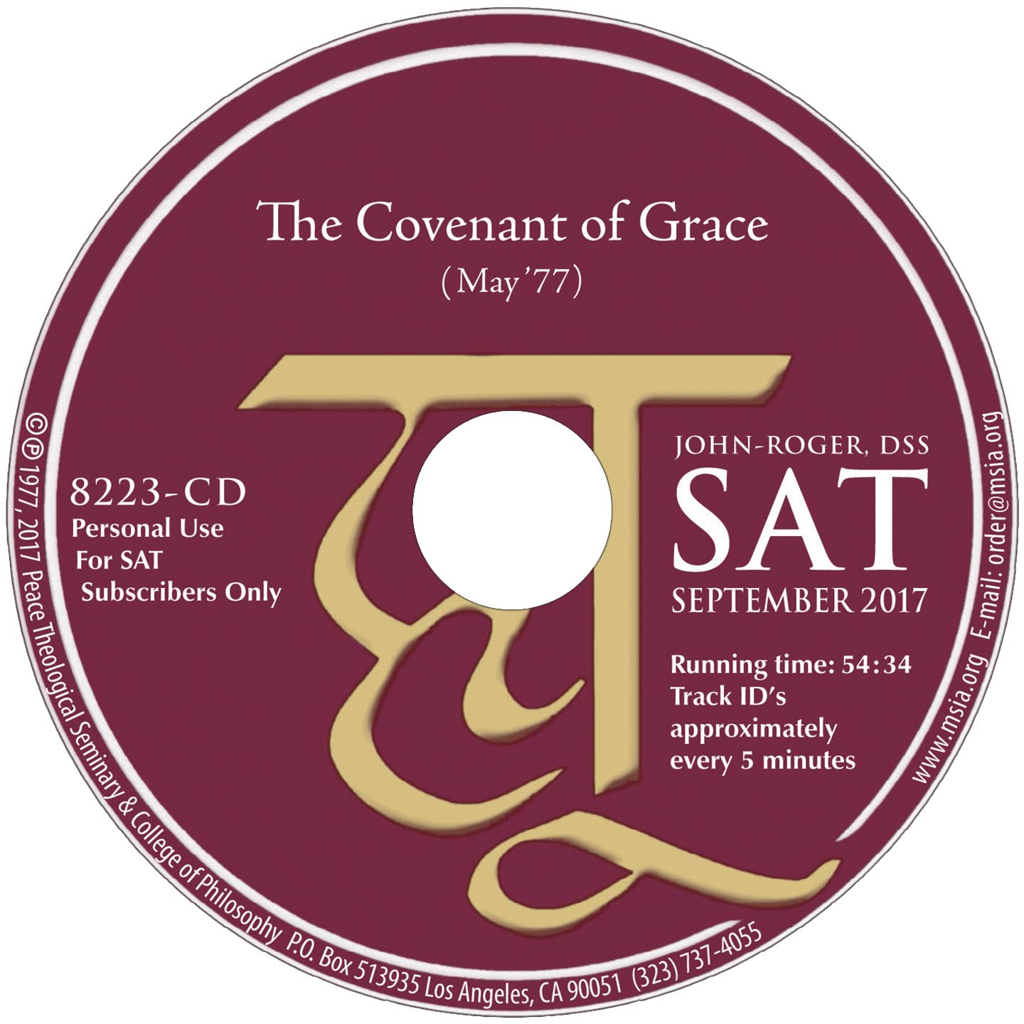 The Covenant of Grace MP3