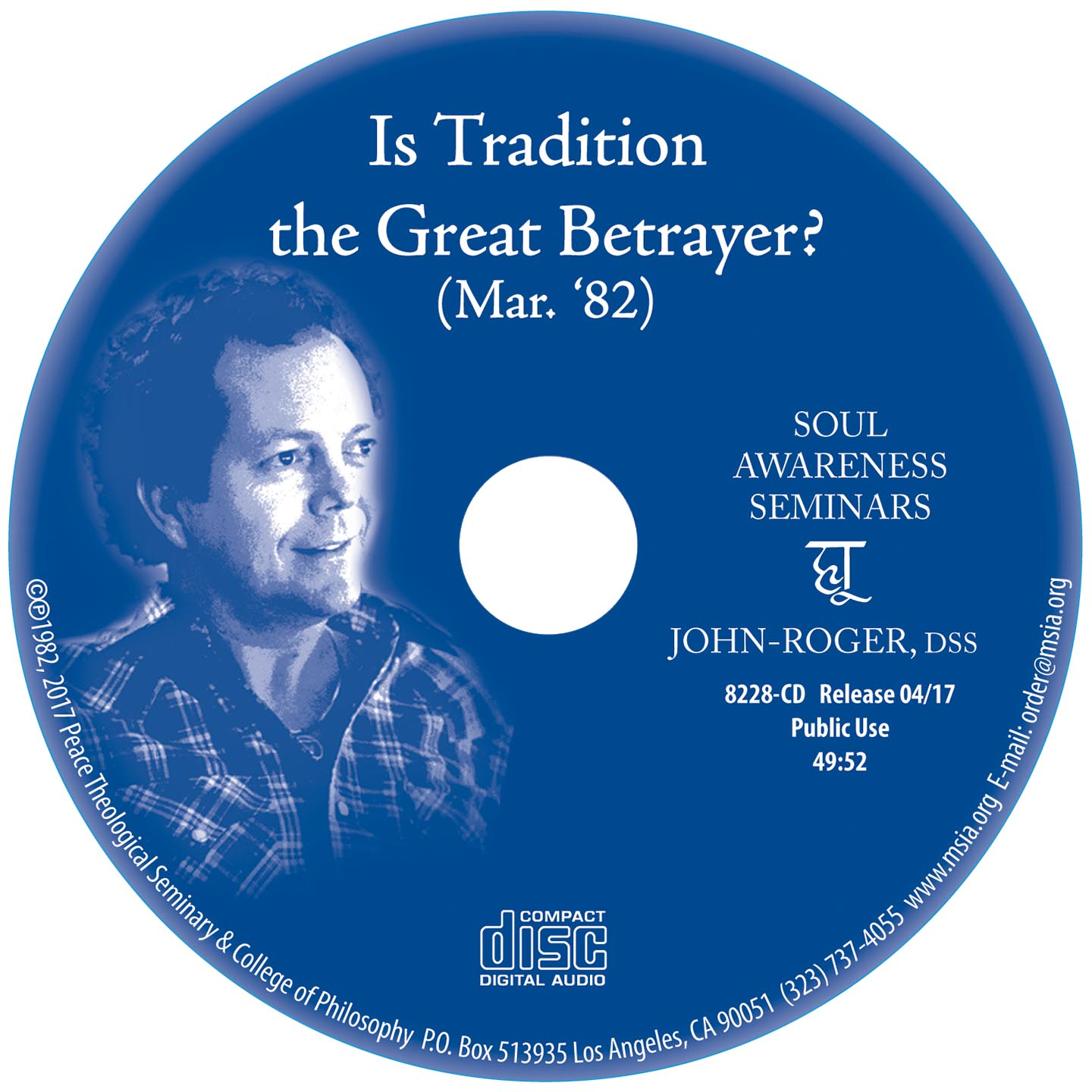 Is Tradition the Great Betrayer? MP3