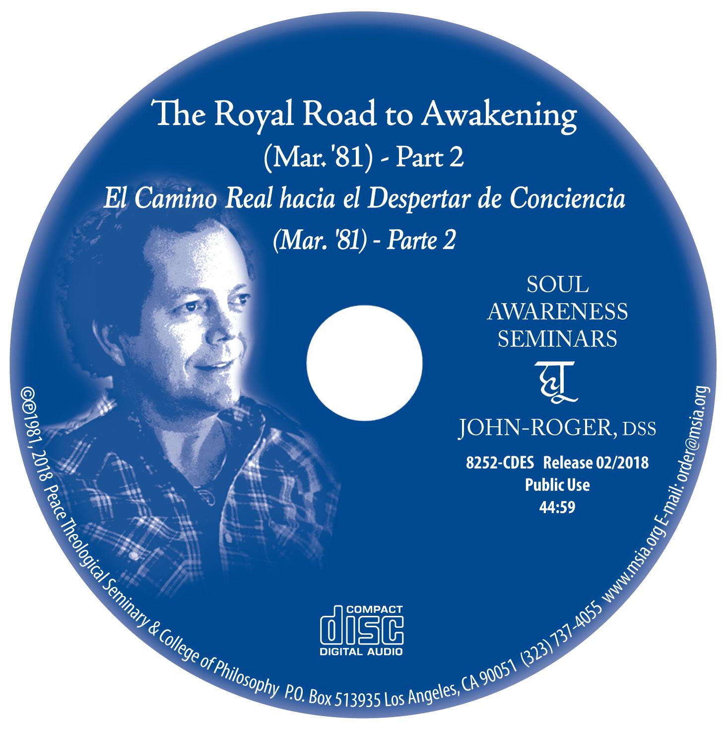 The Royal Road to Awakening - Part 2 MP3