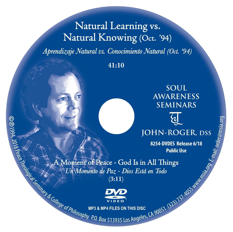 Natural Learning vs. Natural Knowing  MP4