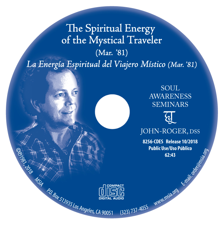 The Spiritual Energy of the Mystical Traveler MP3