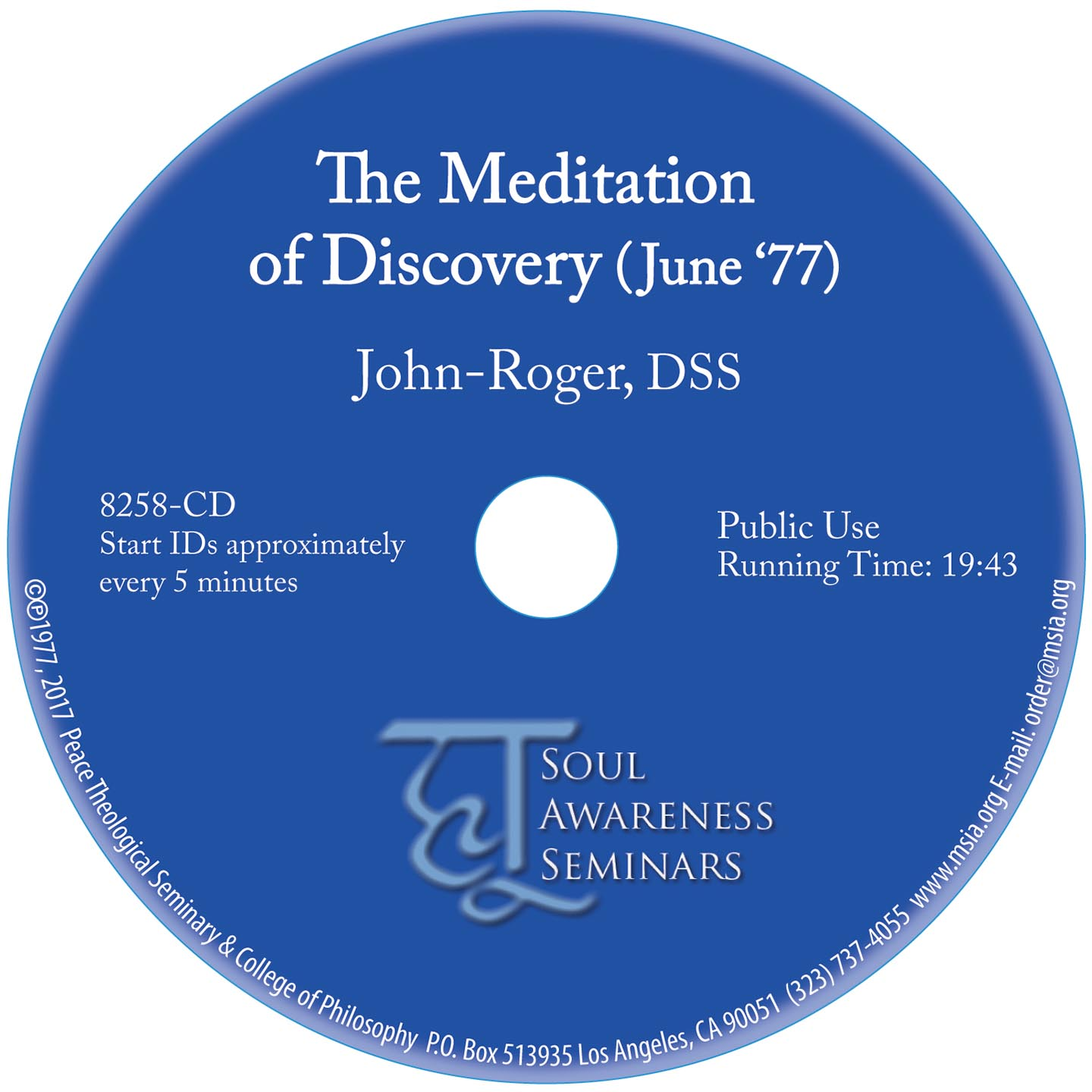 The Meditation of Discovery MP3