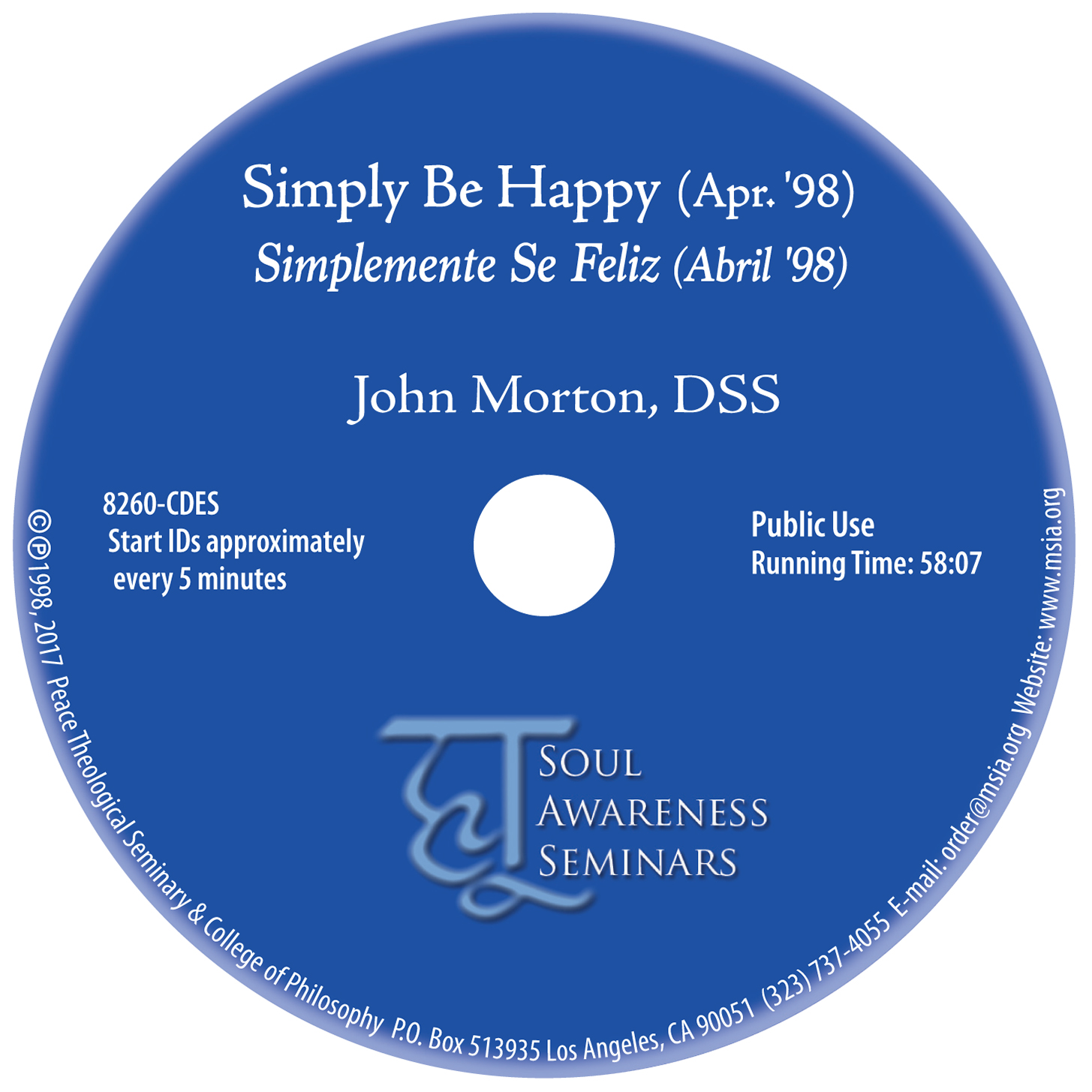 Simply Be Happy MP3