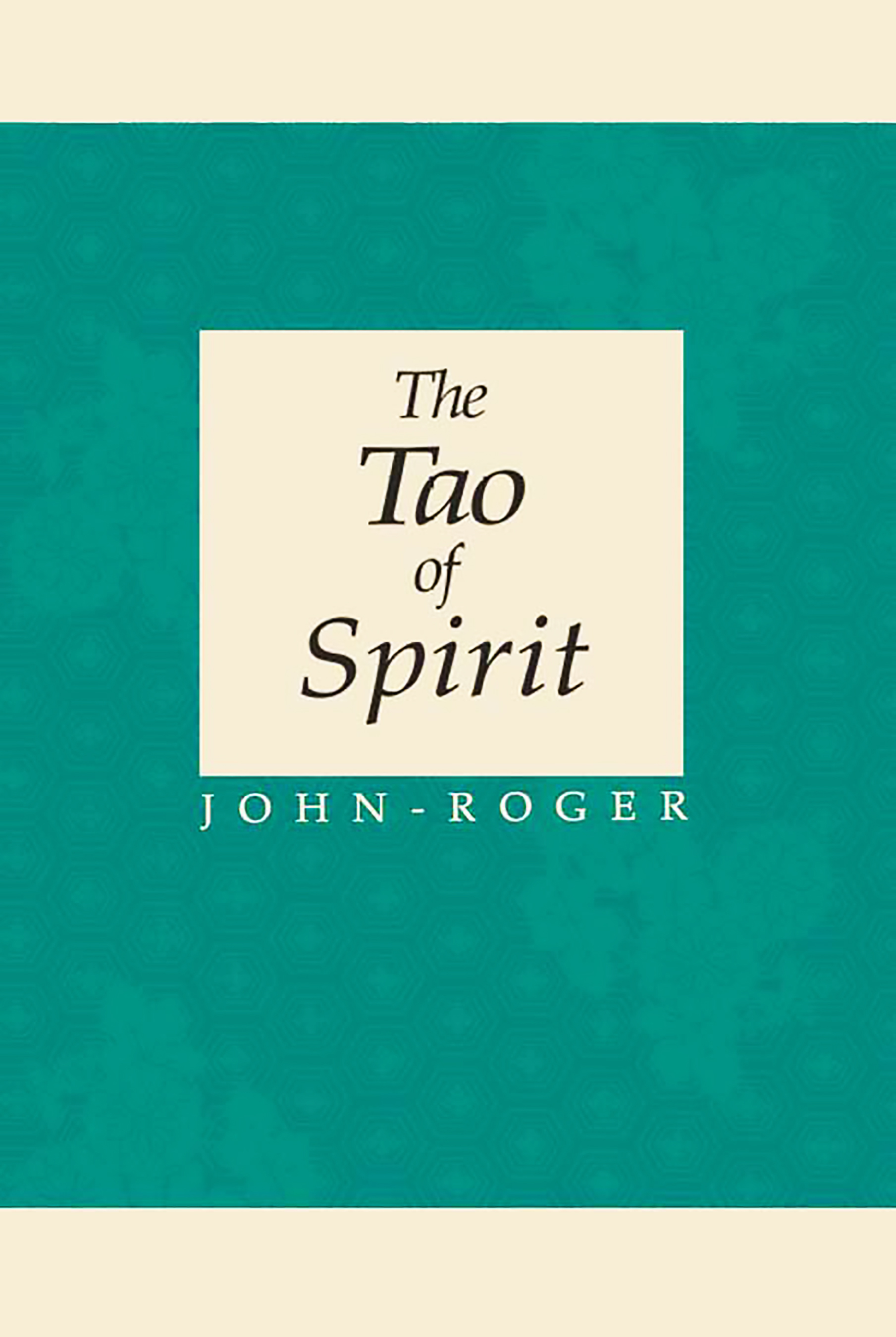 The Tao of Spirit PDF